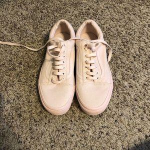 Light pink vans